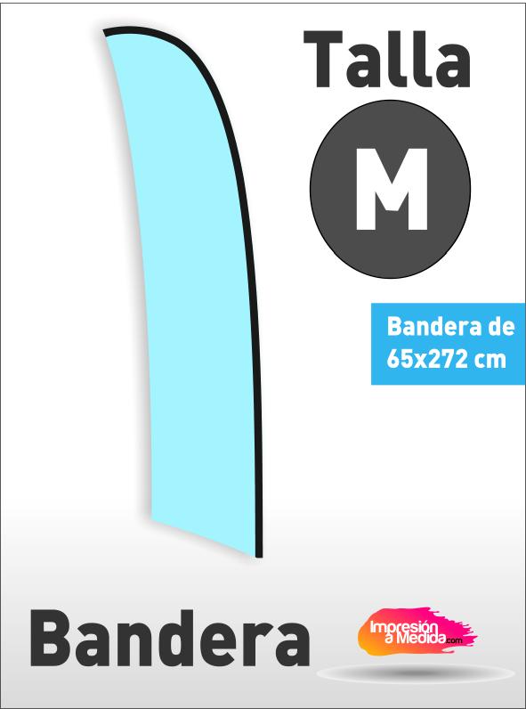 Bandera SURF. Talla M