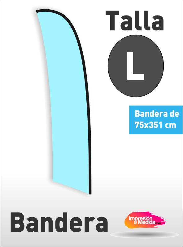 Bandera SURF. Talla L