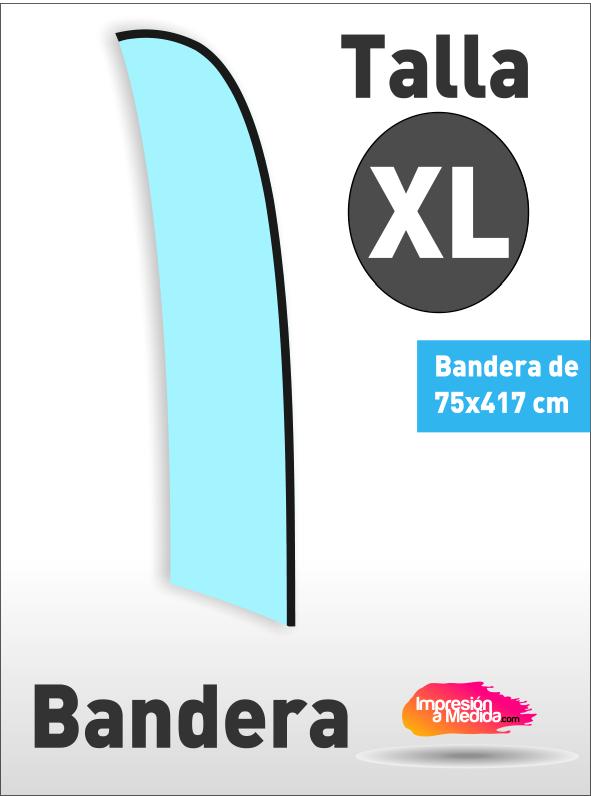 Bandera SURF. Talla XL
