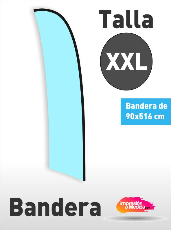 Bandera SURF. Talla XXL